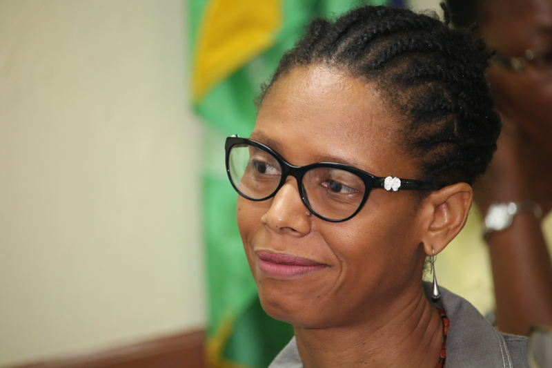 Commissioner of the Martinique's Authority H.E Murielle Lesales