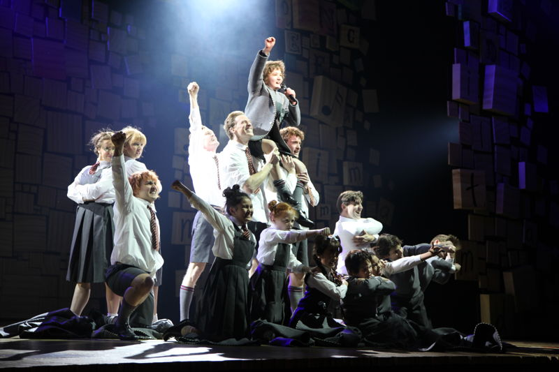 Matilda and Me - on stage performers.