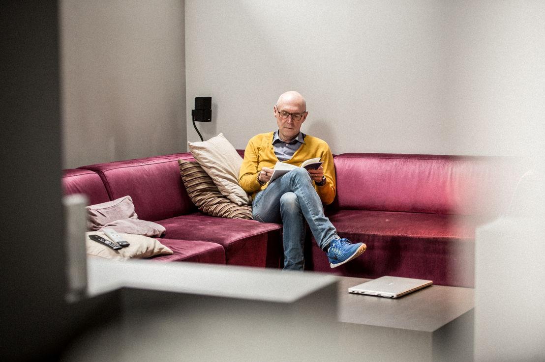 Leesambassadeur Michel Wuyts - (c) VRT Joost Joossen