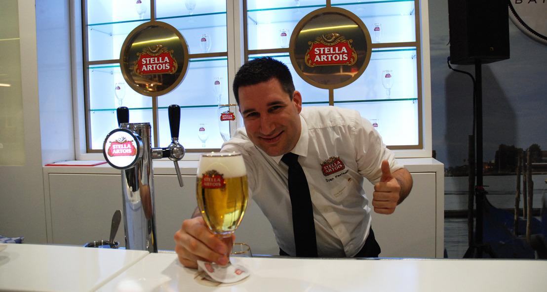 Sven Pasteels van café The Loft is de beste tapper van Brussel en Wallonië!