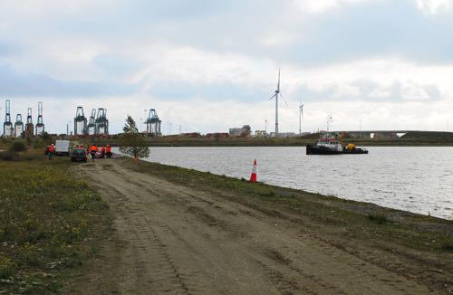 Update: opruimwerken olievervuiling Doeldok en Verrebroekdok afgelopen