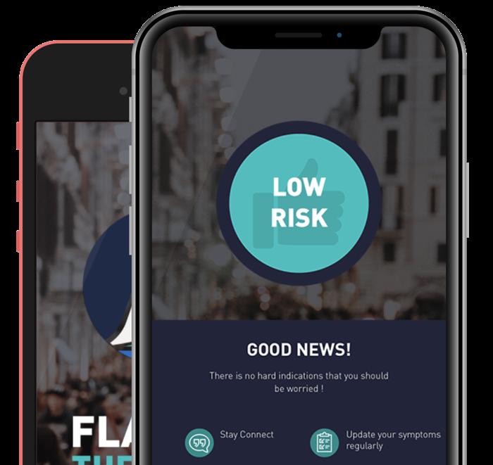 Nieuwe gratis app kan verdere verspreiding Covid-19 beter en sneller indijken