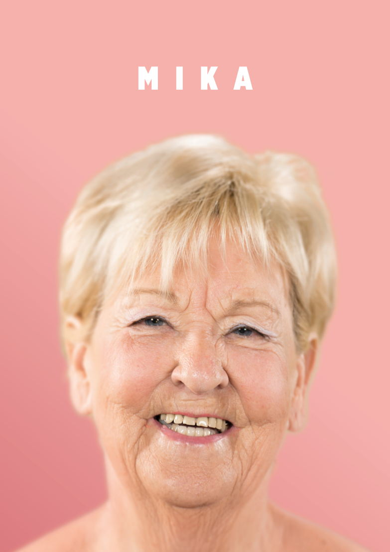 Mika, 79 jaar, weduwe.<br/>Halle.