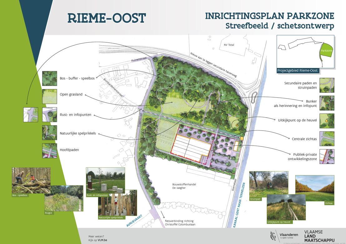 Toekomstbeeld park Rieme Oost