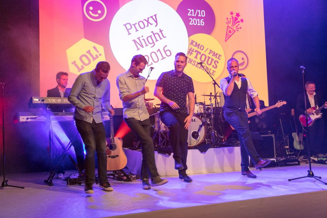 SD Worx Proxy Night Campaign 2016