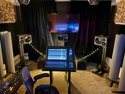 Going the distance: John Harris setting new standards for remote recording and mixing with Neumann monitoring array
