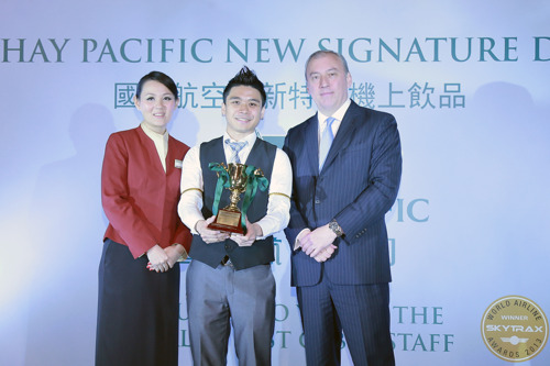 Hong Kong's top mixologists compete to create new signature drink for Cathay Pacific