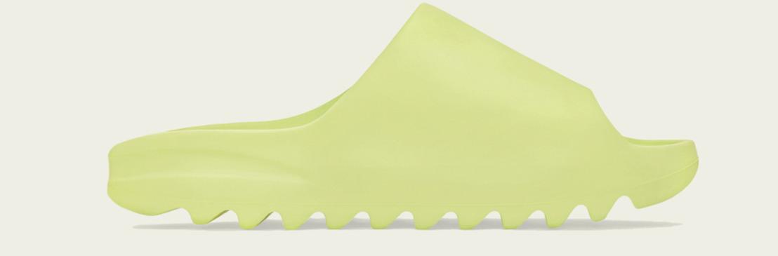 adidas + KANYE WEST anuncian la llegada de YEEZY SLIDE GLOW GREEN & SOOT