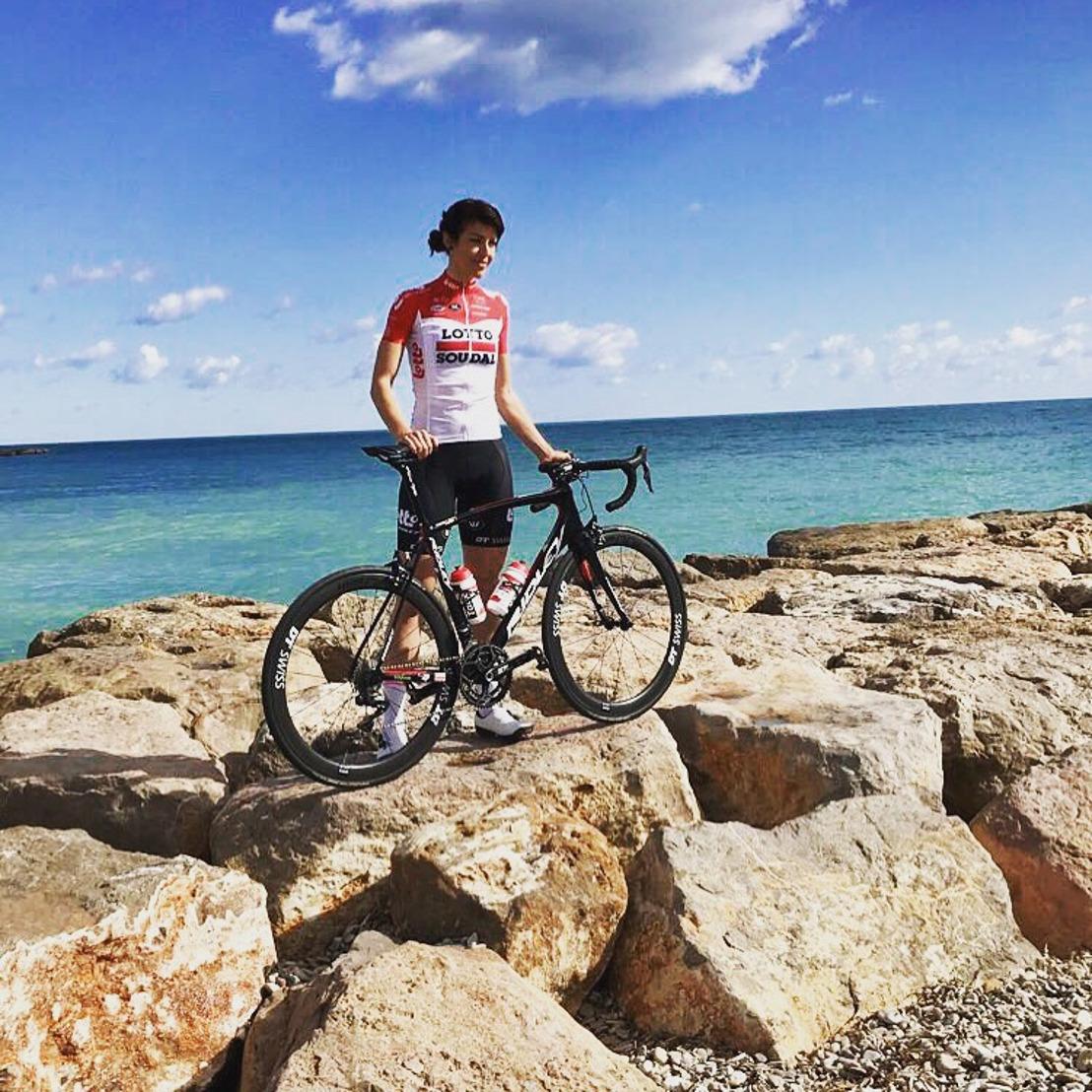 ŠKODA Belgique soutient la coureuse cycliste Isabelle Beckers