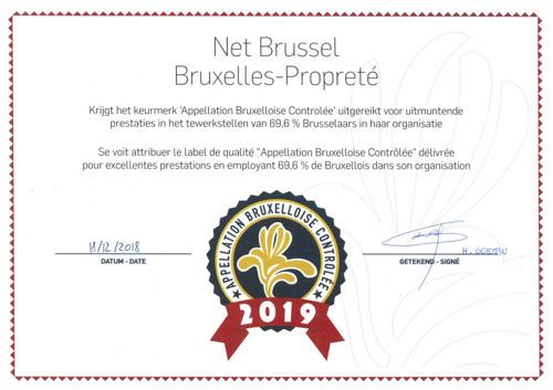 Preview: Bruxelles Propreté remporte un deuxième prix ABC