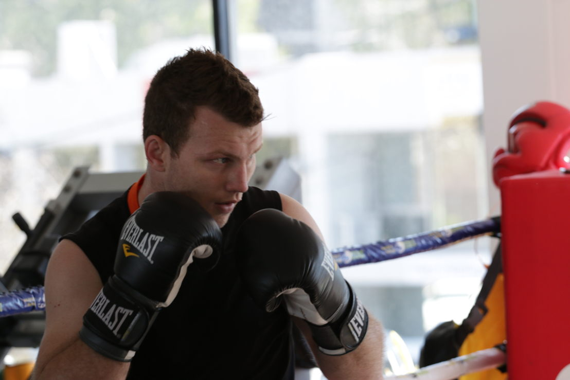 Australian Story <br/>Jeff Horn in training at Glenn Rushton&#039;s gym in Brisbane.<br/>Click here to download.