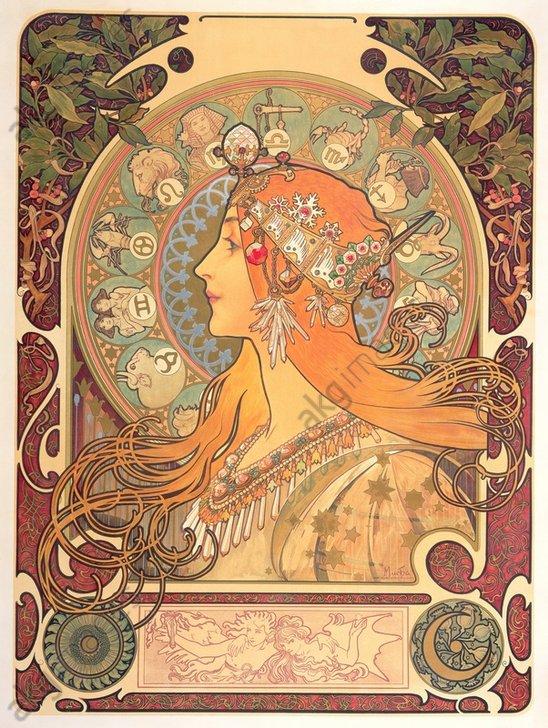 """""""Zodiaque"""" (Zodiac), 1896<br/>AKG1006655"""
