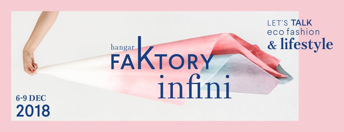 Duurzame en lokale textiel, fashion en lifestyle in de kijker op FaKtory Infini in Hangar K in Kortrijk