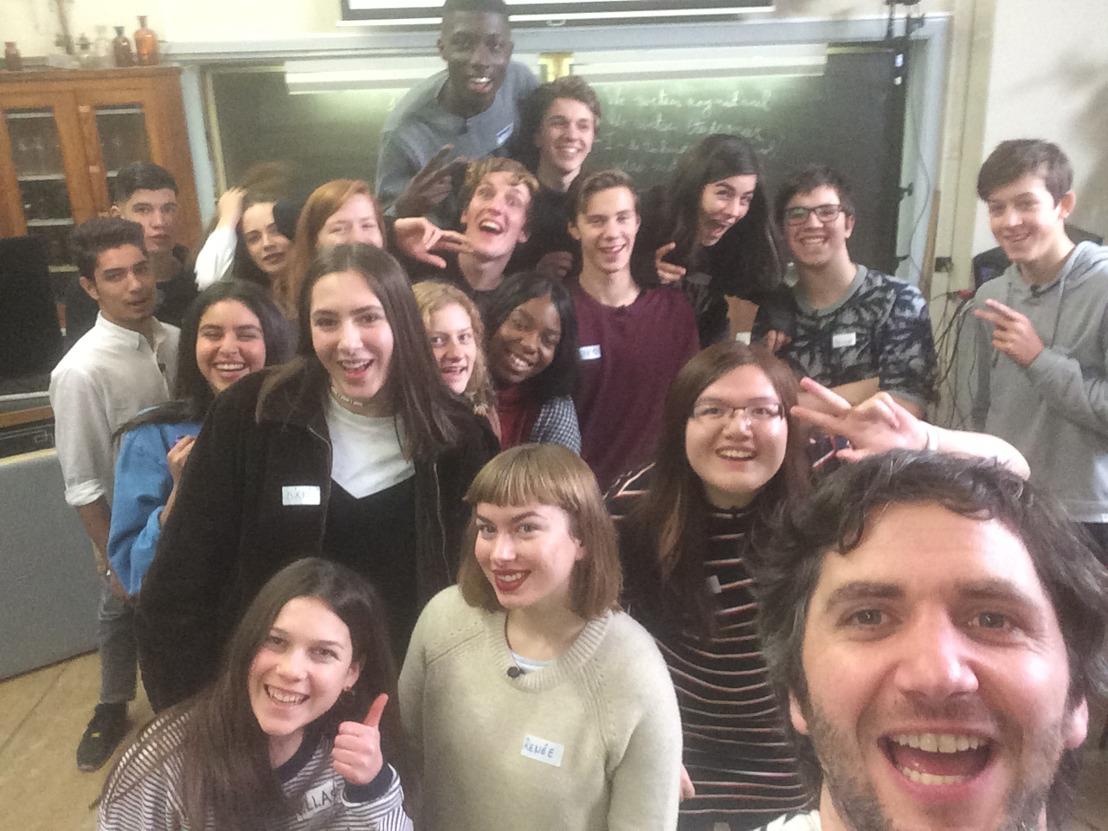 Eén oproep | Win een les met Lieven Scheire als leerkracht in jouw klas