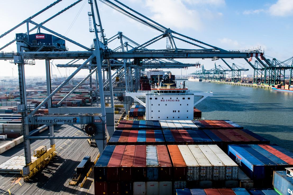 Port of Antwerp: herstel zet zich voort
