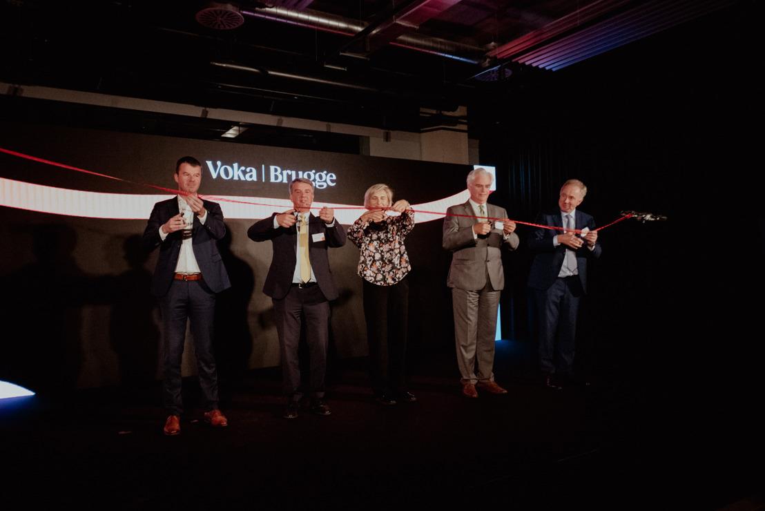 Voka West-Vlaanderen opent innovatieve hub Voka   Brugge