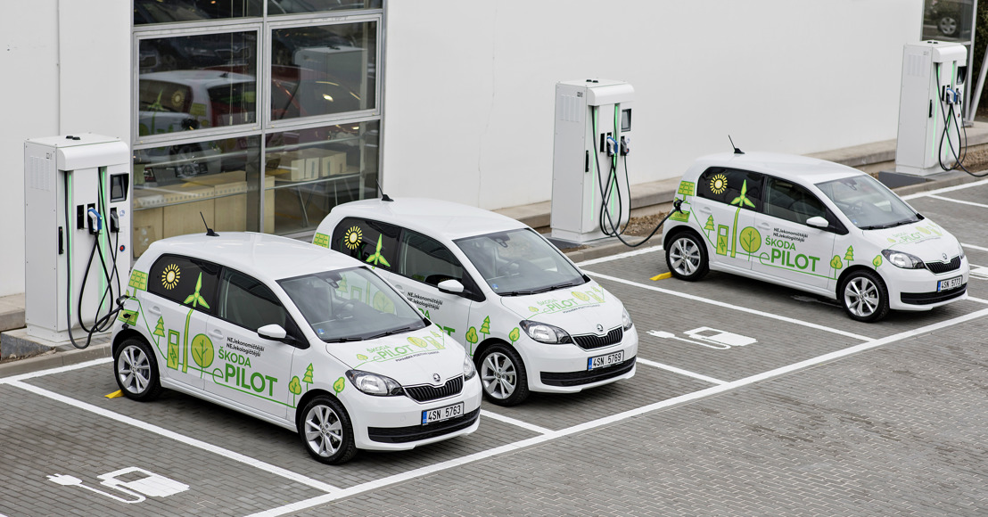 ŠKODA launches eMobility pilot project in the Czech Republic