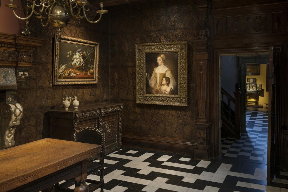 Un nouveau prêt spectaculaire pour la Maison Rubens : le Portrait d'une dame et de sa fille de Titien