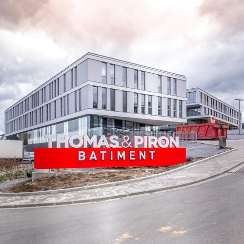 Les nouveaux bureaux de Thomas & Piron Bâtiment proposent un new way of working innovant