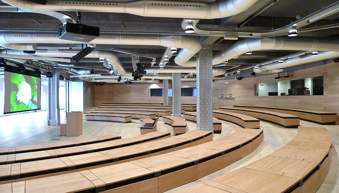 EZ Acoustics performed the acoustic treatment for Fundación Telefonica in Madrid, Spain.