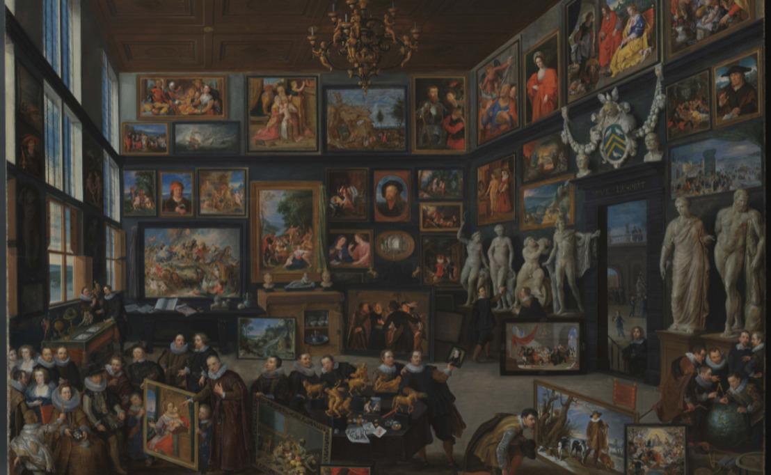 'De kunstkamer van Cornelis van der Geest' na complexe restauratie opnieuw te zien in Rubenshuis