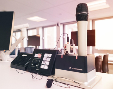Встречайтесь с экспертами Sennheiser онлайн