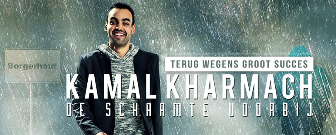 Kamal Kharmach op succestournee door heel Vlaanderen