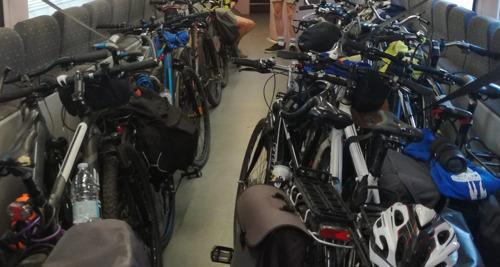 COVID-19: veiligheidsmaatregelen in verband met fiets op de trein