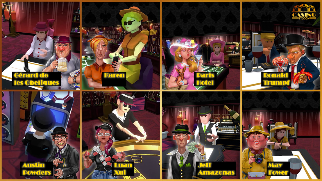 New Grand Casino Tycoon clip reveals celebrity guests