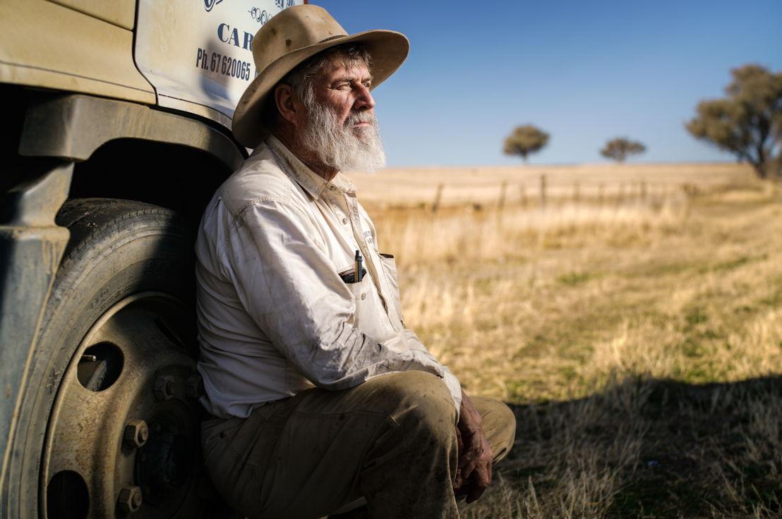 Graeme Burgess is a sheep and cattle farmer near Tamworth. Photo by Matt Bedford.