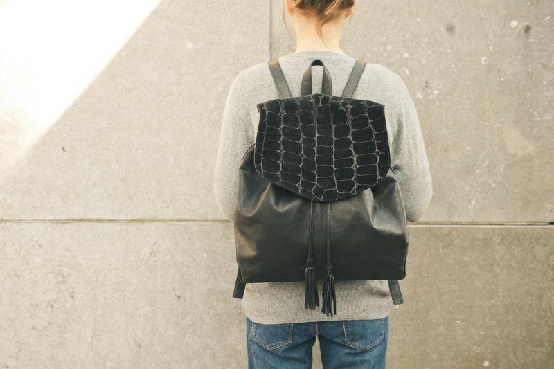 André - sac à dos - €225