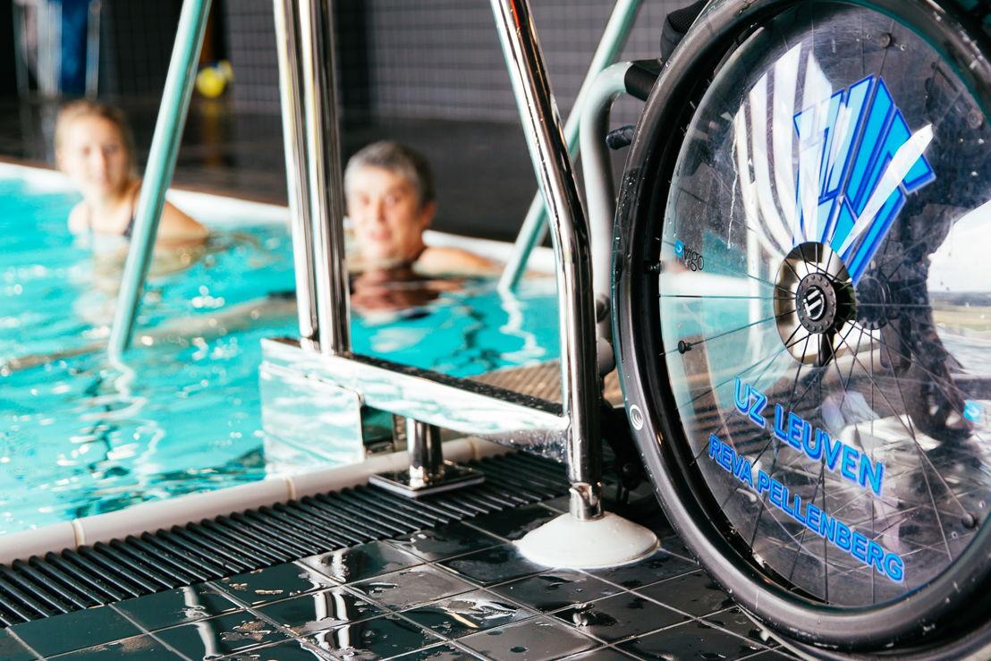 hydrotherapie<br/>© UZ Leuven Wim Feyaerts