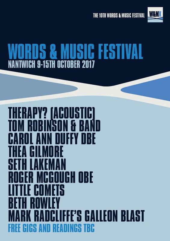 Words & Music Festival 2017 (flyer)