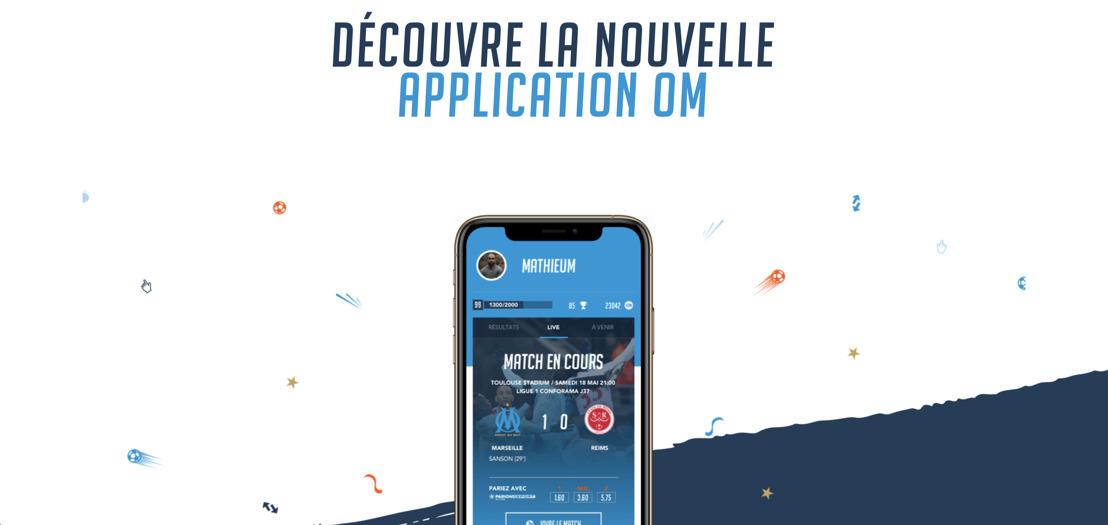L'OM 24 heures sur 24 dans son smartphone Emakina joue le jeu des fans avec une application mobile qui va droit au but !