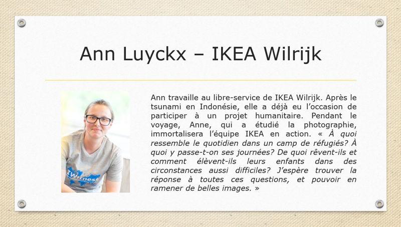 Ann Luyckx - IKEA Wilrijk