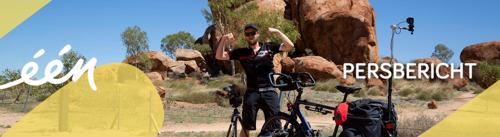 Nieuw seizoen Iedereen beroemd: reporter Wouter fietst dwars door Oceanië, en klankman Pascal Braeckman neemt mensen mee in zijspan