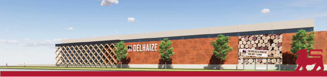 Delhaize bouwt gloednieuwe wijnbottelarij in Kobbegem