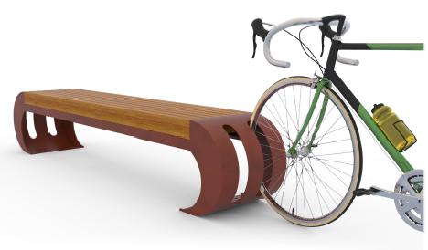 Iccos Seat with Okume wood