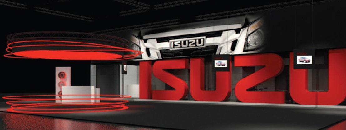 Isuzu geeft 5.000 gratis tickets weg voor het autosalon aan alle pick-up rijders van alle merken.