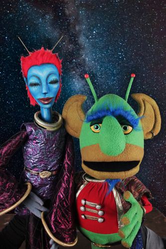 Center for Puppetry Arts launches out-of-this-world adventure with SPACE!, now-October 20