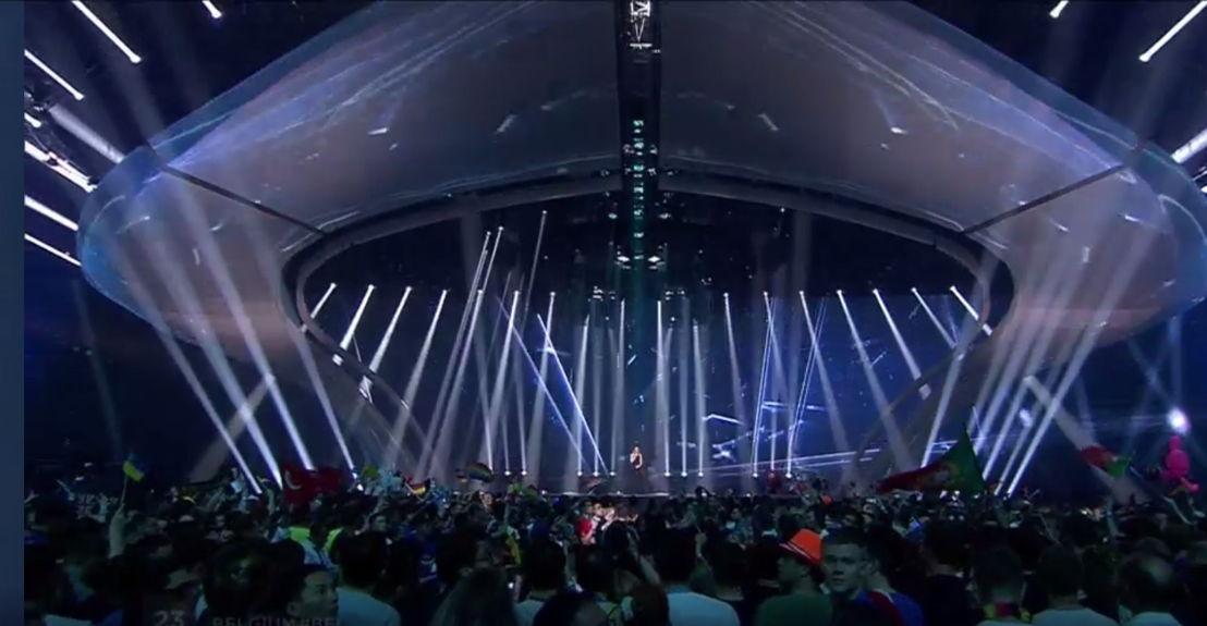 Eurovisiesongfestival - optreden Blanche in de finale