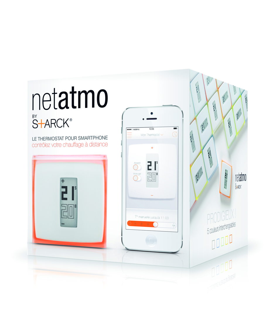 Thermostat Netatmo pour Smartphone