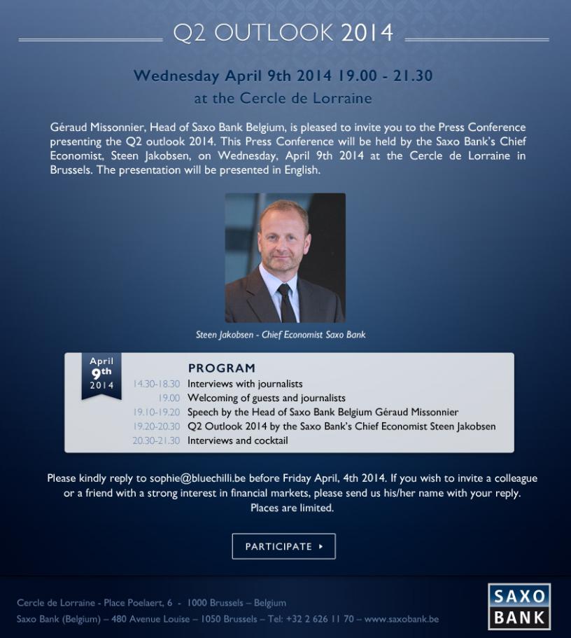 Presentation outlook Q2 2014
