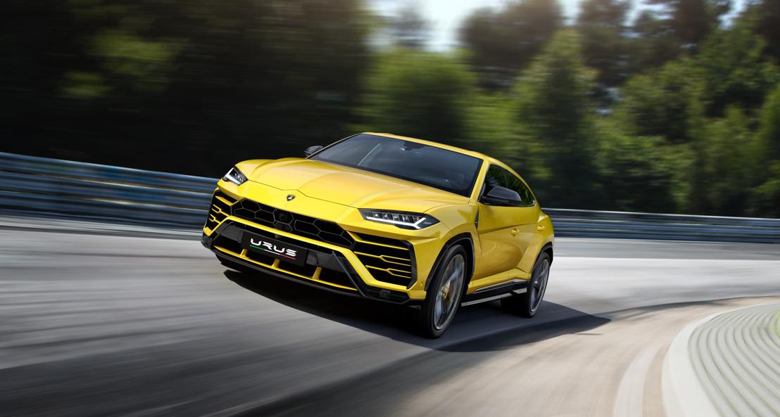 Nouvelle Lamborghini Urus