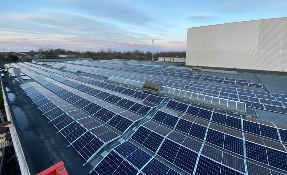 2.866 zonnepanelen op dak van Agfa-Gevaert site in Mortsel