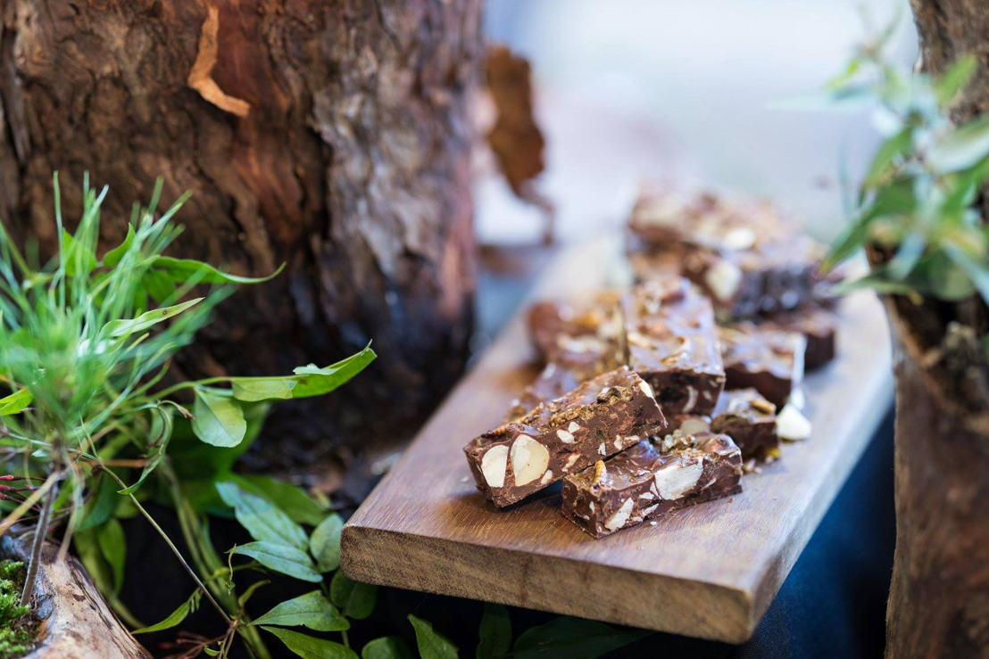 From 1130am: Taste the Rocky Road made from fair trade chocolate with macadamias, topped with dry roasted crickets and meal worms. Plus other tastings included on the day will be Wattle Seed biscuits and chocolate brownies made from ground cricket flour.