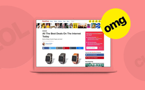 Introducing the BuzzFeed Channel for Shopify