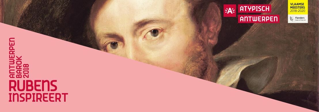 30.03.2018 Antwerpen feiert 2018 Peter Paul Rubens und sein barockes Vermächtnis mit einem kulturellen Stadtfestival