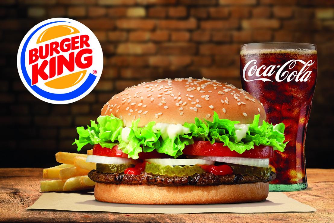 🍔 Vanaf nu wordt de Koning van de Hamburgers geleverd door de Kleine Koningin in De Vurige Stede 🍔
