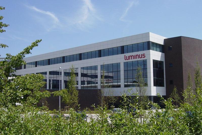 Kantoren EDF Luminus in Hasselt.